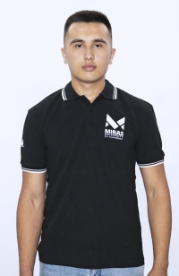 T-shirt Polo - Black