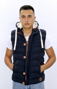 Vest jacket - Blue