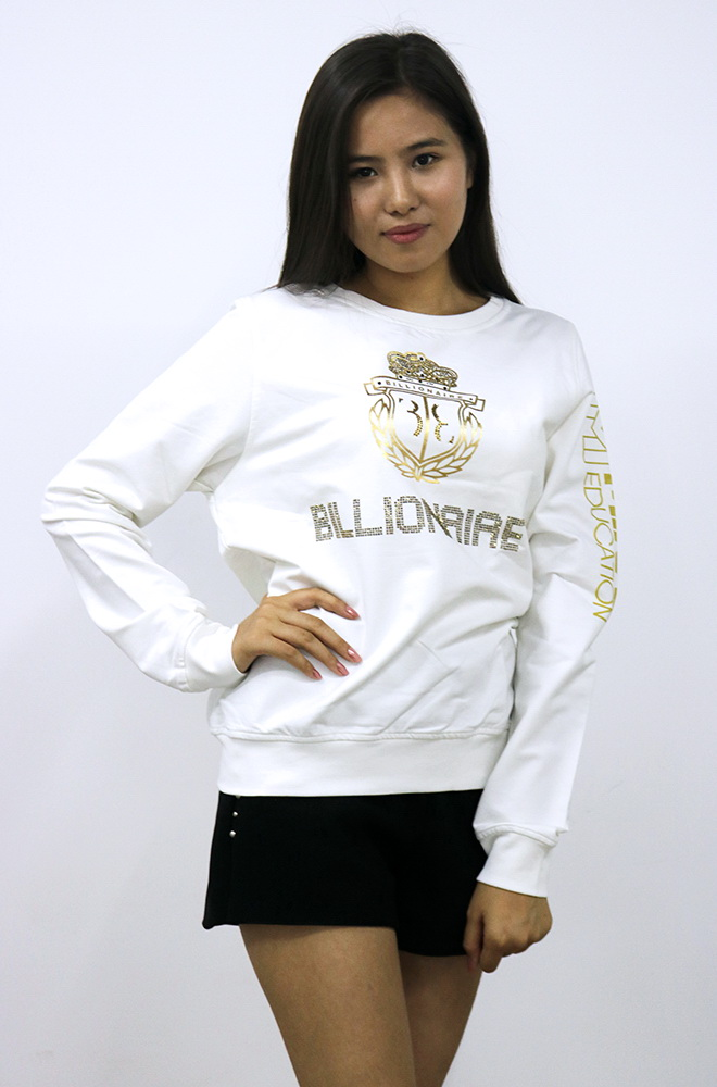 Sweater BILLIONAIRE - White (Female)