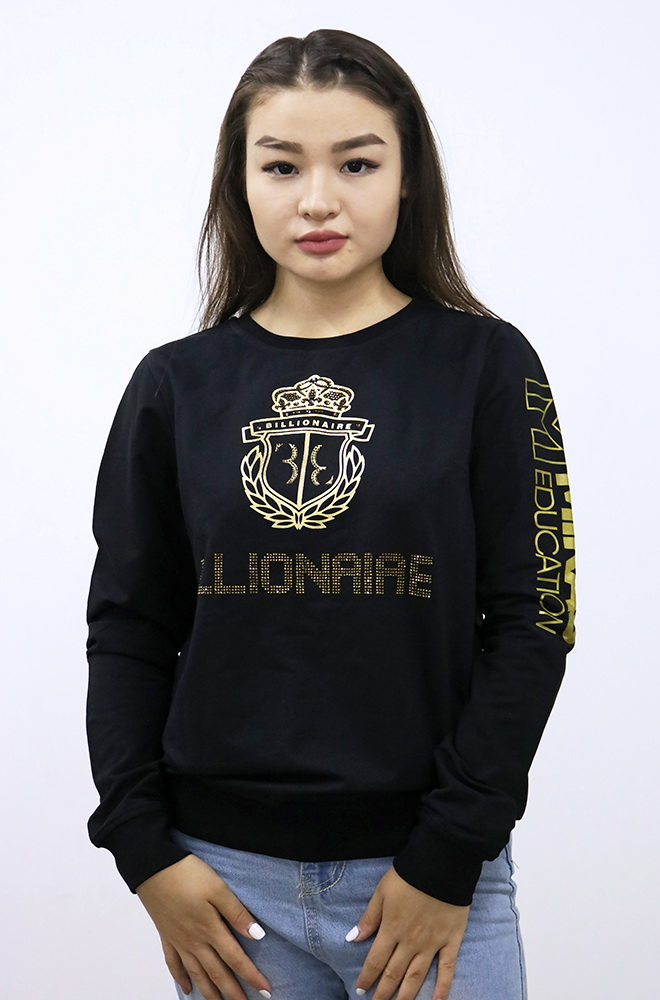 Sweater BILLIONAIRE - Black (Female)