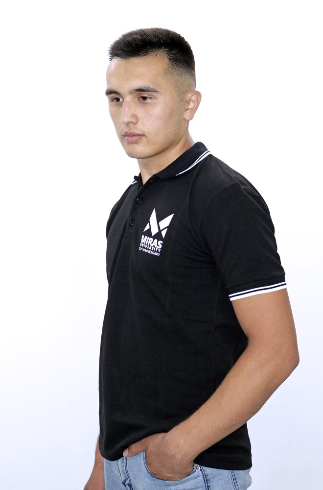 T-shirt Polo - Black