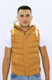 Куртка жилетка - Желтая