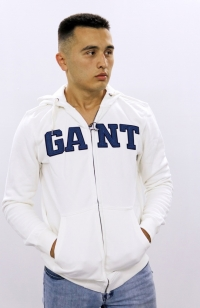 Толстовка GANT - Белая