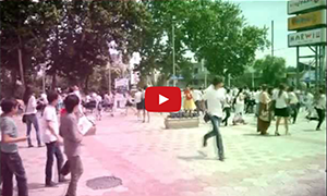 Флешмоб от Университета Мирас 25.05.2012